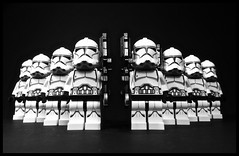We serve the Republic! (anotherclone_inthewar) Tags: new 2 3 trooper star lego company wars squad clone phase episode riffle dc15a