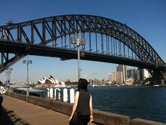 Sydney Harbour walk (eternitybegins2day) Tags: harbour sydney operahouse sydneyharbourbridge