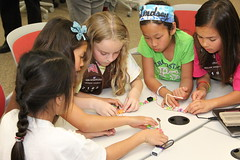 "LittleBits Workshop • <a style=""font-size:0.8em;"" href=""http://www.flickr.com/photos/39901239@N00/12918376775/"" target=""_blank"">View on Flickr</a>"
