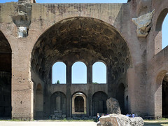 Basilica of Maxentius and Constantine, right bay