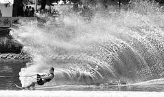 The wall of water (Pat Charles) Tags: ski water river nikon skiing action australia melbourne victoria yarra waterskiing splash waterski moomba ringexcellence dblringexcellence