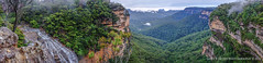 Under the Weather Wentworth Falls 2 (Gary Hayes) Tags: mist waterfall sydney australia bluemountains weepingrock