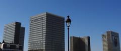 Grande Bibliothque, Quartier de la Gare, Paris (blafond) Tags: paris france architecture streetlamp lampadaire quartierdelagare