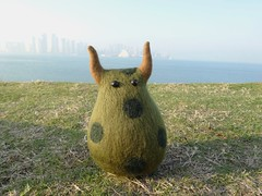 by SUGIEsan (canacol) Tags: travel stuffed doll crafts felt needlefelting guilty