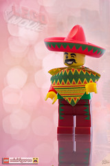 Lego The Movie - Mr Mardi Mexicano (Zed The Dragon) Tags: man movie french toys effects photography photo iron panda flickr lego minolta fig photos bokeh head sony mini super william ironman empire figure mandarin heroes minifig alpha marvel groupe srie mardi postproduction flic serie franais sal zed tete calamity francais lightroom pantalon emmet effets 2014 hros minifigures wisey themovie lgo a850 legomovie dslra850 alpha850 zedthedragon