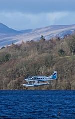 Landing on Loch Lomond (billmac_sco) Tags: scotland lochlomond seaplane water landscape