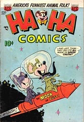 Ha Ha 90 (Michael Vance1) Tags: art artist adventure anthology comics comicbooks cartoonist funnyanimals fantasy funny humor goldenage