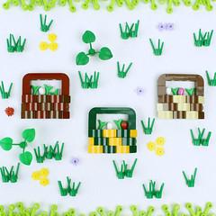 Easter Baskets (David FNJ) Tags: lego easter basket