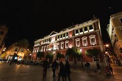 DSC_7411 (edgar.photography) Tags: sevilla seville andalucia nikond300 edgarsousa city cityscape citycidadeciudadscapecityscapestadtphotobildfotoblueskycieloazulceubuildingedificiobauantiguoantigooldaltplatzplazapracaedgarsousanikond300peopleleutemenschen travel europe spain españa espanha