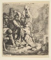 O apedrejamento de Santo Estêvão