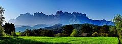 PANOR  MONTSERRAT DSD MARGANELL  GX7_P1030357-59  PNMMK4 (FABIÀ) Tags: 100v10f panoramic panorama landscape montserrat marganell bàges elbàges barcelona catalonia mzd1250 gx7 lumix panasonic