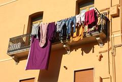 Trapani, Viale Duca d'Aosta, Waschtag (wash day) (HEN-Magonza) Tags: trapani sizilien sicily sicilia italien italy italia vialeducadaosta waschtag washday
