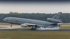 RNLAF KDC-10 touching down on dutch soil (Nicky Boogaard) Tags: rnlaf kdc10 tankeraircraft aviation mcdonneldouglas eindhoven