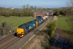 On The Boil (Richie B.) Tags: kettle hill penrith cumbria 6k74 drs direct rail services english electric british class 37 37218 37609 nuclear flask fna wcml west coast main line