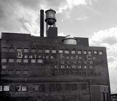 Denver,  1996 (Dave Glass, Photographer) Tags: denvercolorado denver colorado beatricefoods beatricefoodsbuilding mediumformat fujigs645s icehouseloftsdenver 1801wynkoop icehouselofts
