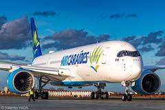 Farewell (vy.photographe) Tags: orly ory lfpo aéroport aéronautique avion grosporteur heavy aircraft airbus aircaraïbes a350 xwb a350xwb repoussage apron fhhav