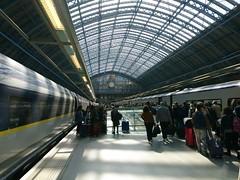London St Pancras Eurostar Platforms (Stephen Cannon) Tags: london stpancras eurostar platform