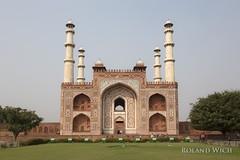 Agra - Akbar's Tomb (Rolandito.) Tags: indien inde india agra tomb akhbar great asia