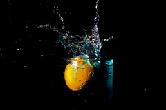 splashy egg (adschi berger) Tags: egg easter spring color colorful funday splash water fp hss contrast reflection studio nikon photography professional luxury elegant frozen waterdrop fashion black yellow glass liquid food foodart