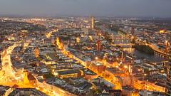 Frankfurt Skyline 16 April, 2017 (Vintage Nexgrapher) Tags: frankfurtskyline16april2017 lens germany sony frankfurt sonynex5r master gsony g lensskylineeveninglightsony fe 2470mm f28 gm sel2470gm