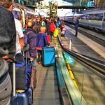 Paris  France ~ Eurostar boarding for London England  ~  300 KM  ~  186 MPH thumbnail