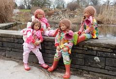 Wo sind denn die Gänse ... (Kindergartenkinder) Tags: 2017 kindergartenkinder annette himstedt dolls sanrike annemoni milina tivi essen grugapark karneval fasching personen
