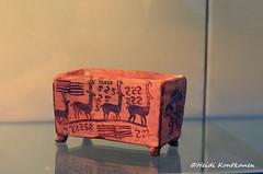 Box with Antelopes and Fish (konde) Tags: box antelope fish naqadaii abydos ancient predynastic art