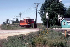 North Shore Car on the Iowa Traction 1993 34 (jsmatlak) Tags: iowa traction terminal masoncity clearlake electric interurban railroad train engine freight switcher northshore line cnsm