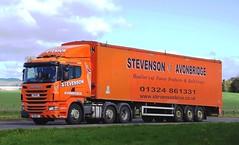 SCANIA R440 - STEVENSON Avonbridge (scotrailm 63A) Tags: lorries trucks stevenson