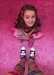 Museum Of Ice Cream - Los Angeles 2017 (evaxebra) Tags: museum ice cream icecream moic museumoficecream art pink installation losangeles la downtown 7th blackmilk leggings rainbow luna minnie mouse dress carpet