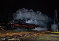 For a brief moment.... (grady.mckinley) Tags: 611 norfolk western steam ruffin north carolina excursion southern railway passenger train