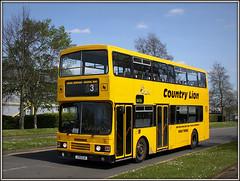 J70 CLN, Kilvey Road (Jason 87030) Tags: countrylion leyland olympian j70cln pepperspice brackmills estate northampton may summer shcool duties yellow color colout decker northants sunny canon shot bus