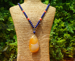 Precious stone necklace on mannequin (phuong.sg@gmail.com) Tags: accessories adornment band beads beauty bejewelled bracelet brown chains circle culture decoration diamonds fashion gems gift glamour glittering glitters jewelery jewellery jewelries jewels mineral neck necklace necklaces old pattern pearl pendants precious regalia ring shiny silver sparkler sparkly stones treasures twonecklaces wear