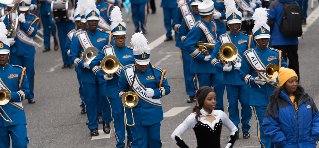 Bahamas All-Stars Marching Band [In Action During The St. Patrick's Day Parade 2017]-125765