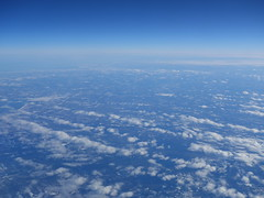 201701031 AB7248 TXL-JFK clouds and sky (taigatrommelchen) Tags: 20170105 canada usa ocean atlantic sky clouds air aerial view photo airplane inflight ber