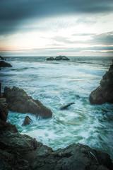 Looking ahead (Dragonslayer8888) Tags: sf long exposure lands end point lobos beautiful nature nostalgic nikon d3200 nd filter lightroom seascape landscape sea san francisco beach