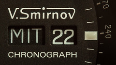 MIT 22 (O.I.S.) Tags: makro macro canon 50d 100mm zwischenringe gm smirnov chrono chronograph uhr watch ziffernblatt
