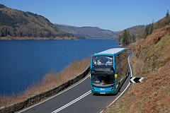Lakeside (Richie B.) Tags: thirlmere cumbria stagecoach and north lancashire sn16ooc alexander dennis adl enviro 400