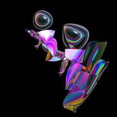 TEHI26 Groucho (FractallyAware) Tags: fractallyaware fractal 3dfractalart incendia