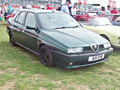 110 Alfa Romeo 155 2.0ltr 16v Twin Spark (1997) (robertknight16) Tags: alfa alfaromeo italy italian 1990s 156 spade racing silverstone a13svw