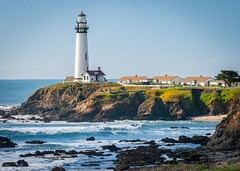 Pigeon Piont Light House 2017-12 (CDay DaytimeStudios w/1,000,000 views) Tags: beach california highway1 landscape ocean pacificcoast pacificcoasthighway sanmateocoast surf water