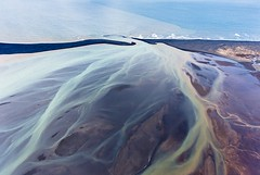 ICELAND 08 (Chris Herzog) Tags: ifttt 500px landscape sea nature beach travel coast pattern aerial colors shore discover drone river delta bed natural bird view iceland icelandic