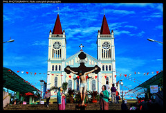 Baguio Church (Phil Photographs) Tags: church street photography churches historical catholic christian jesus inri