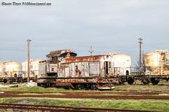 2017.03.25 | 80 009 | Caracal (Davee91) Tags: ldh1250 cfr locomotive faur oktober23 caracal trenuri romanesti dacia scrap old school rusty