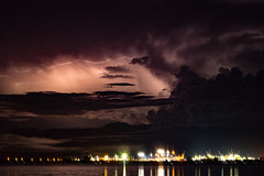 Stormy Night (betadecay2000) Tags: eta beta storm darwin northern territory gewitter nacht blitz blitze lightning wolke wolken cloud clouds 31072017 2017 stokes wharf hill nite langzeitbelichtung gewitterstimmung himmel