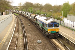 66711 Hither Green (localet63) Tags: gbrailfreight class66 66711 sence hithergreen 6m79