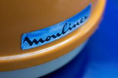 coffee grinder (moulin à café) (cactus2016) Tags: macro orangeandblue moulinex café macromondays orange blue