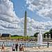 Washington Memorial on a sunny day