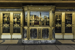 Ticket sales at the Fox Theater, Detroit (TAC.Photography) Tags: foxtheater detroit ticketbooth goldentrim architecture elegant rich ornate tacphotography tomclarkphotographycom tomclark