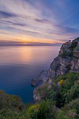 Sunset 2 (Antonio H) Tags: sunset sorrento italia acantilado cielo sky italy sea tirreno
